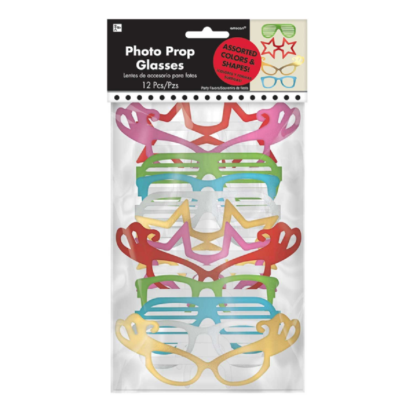 Photo Prop Glasses (12pk)